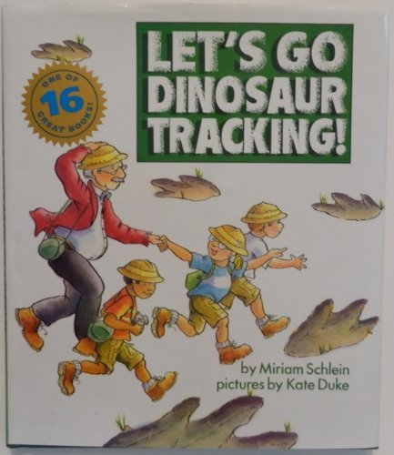 9780060251390: Let's Go Dinosaur Tracking