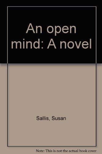 9780060251635: An open mind: A novel