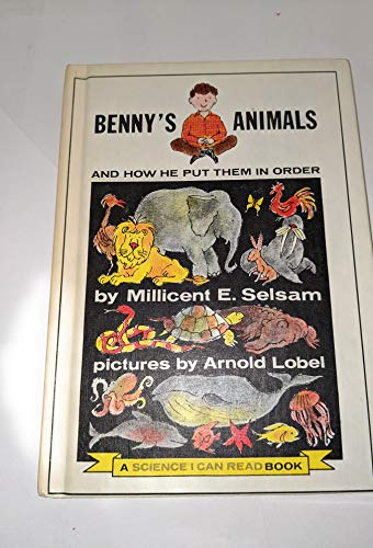 9780060252724: Benny's Animals and How He Put Them in Order