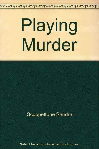 9780060252847: Playing Murder