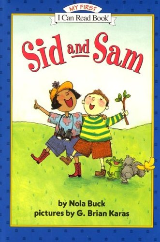 9780060253721: Sid and Sam (My First I Can Read - Level Pre1 (Hardback))