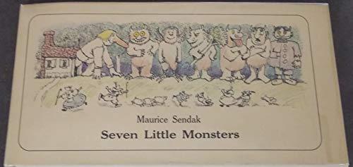 9780060254773: Seven Little Monsters