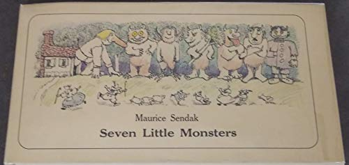 9780060254773: Seven Little Monsters