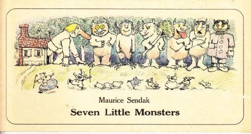 9780060255015: Seven Little Monsters
