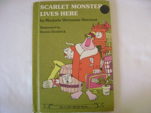 9780060255268: Scarlet Monster Lives Here__An I Can Read Book