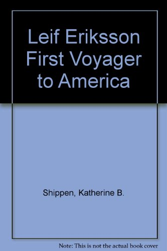 9780060255961: Leif Eriksson First Voyager to America