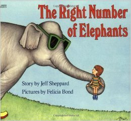 9780060256166: Right Number Of Elephants Lb