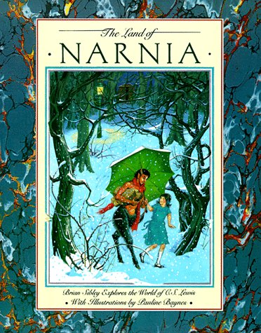 9780060256258: The Land of Narnia: Brian Sibley Explores the World of C.S. Lewis