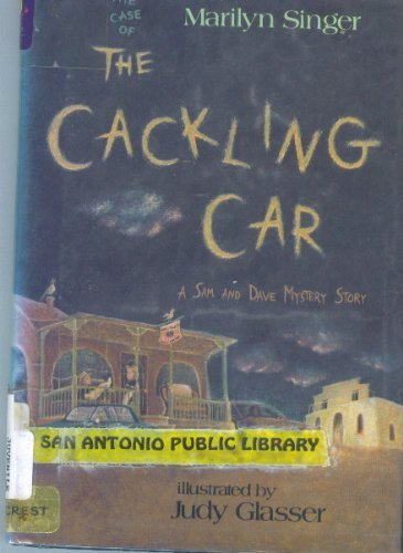 9780060256333: The Case of the Cackling Car: A Sam and Dave Mystery Story