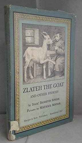9780060256982: ZLATEH GOAT & OTHER