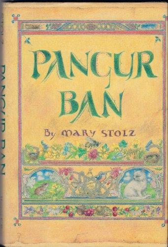 Pangur Ban (9780060258610) by Mary Stolz