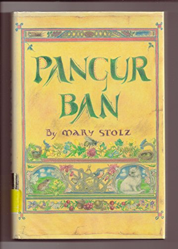 Pangur Ban (0060258624) by Stolz, Mary; Johnson, Pamela