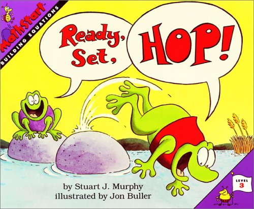 9780060258771: Ready, Set, Hop! (MathStart 3)