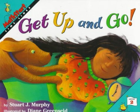 9780060258818: Get Up and Go!: Time Lines (Mathstart)