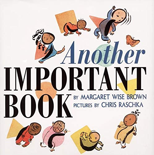 9780060262822: Another Important Book