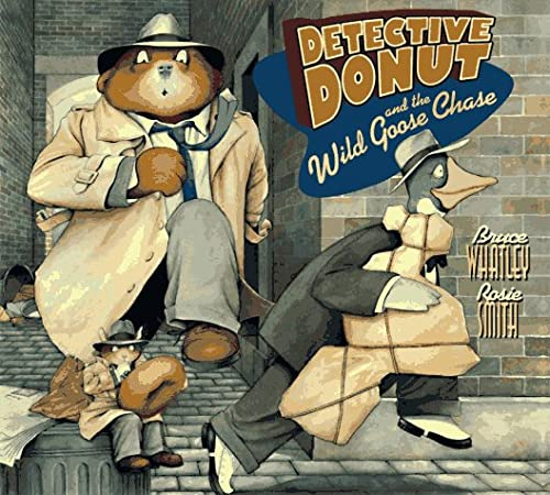 9780060266042: Detective Donut and the Wild Goose Chase