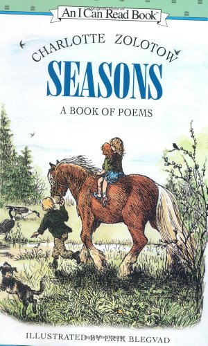9780060266981: Seasons: A Book of Poems