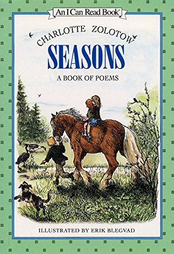 9780060266998: Seasons: A Book of Poems