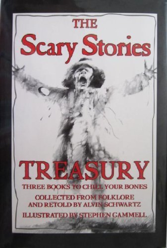 9780060267865: The Scary Stories Treasury: Three Books to Chill Your Bones (Collected from Folklore and Retold by Alvin Schwartz)