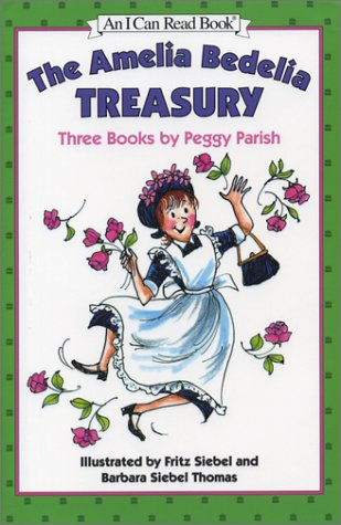 9780060267872: The Amelia Bedelia Treasury: Three Books by Peggy Parish (An I Can Read Book)