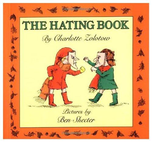 9780060269234: The Hating Book