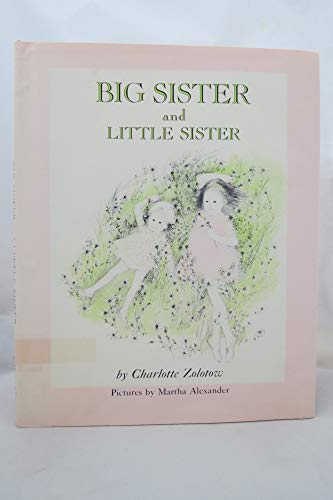 9780060269258: Big Sister and Little Sister