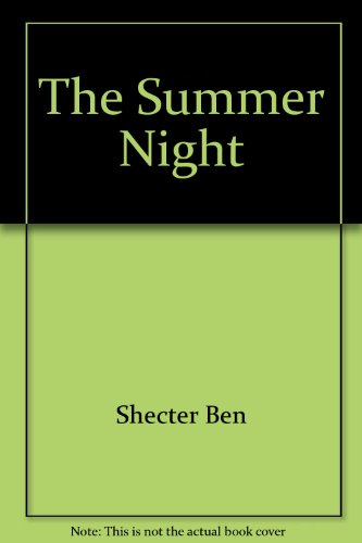 The Summer Night (006026960X) by Zolotow, Charlotte