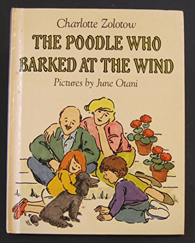 9780060269654: The poodle who barked at the wind
