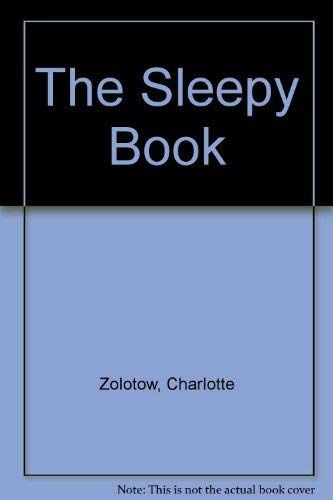 9780060269678: The Sleepy Book