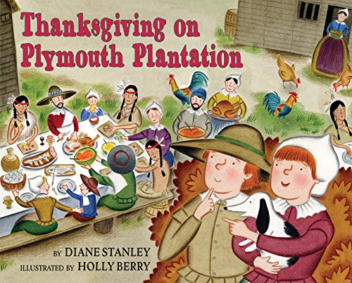 9780060270698: Thanksgiving on Plymouth Plantation (Time-Traveling Twins)