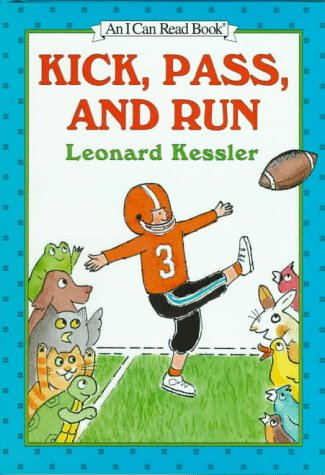 9780060271046: Kick, Pass, and Run (An I Can Read Book)