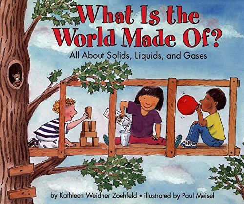 9780060271435: What Is the World Made Of?: All About Solids, Liquids, and Gases (Let's-Read-and-Find-Out Science 2)