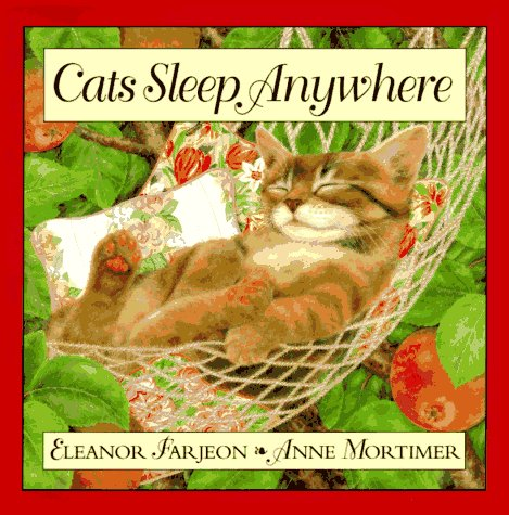 9780060273347: Cats Sleep Anywhere