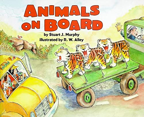 9780060274429: Animals on Board: Adding (Mathstart: Level 2 (HarperCollins Hardcover))