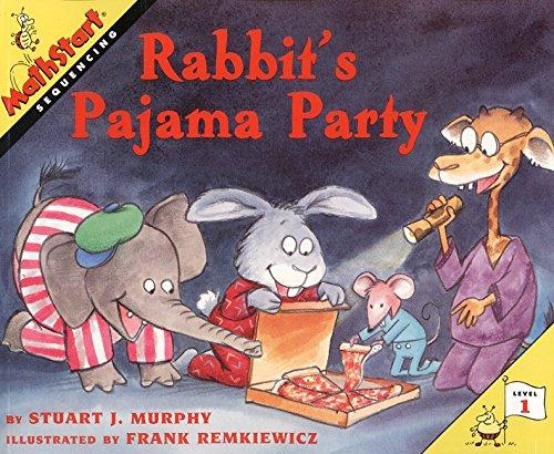 9780060276164: Rabbit's Pajama Party (MathStart 1)