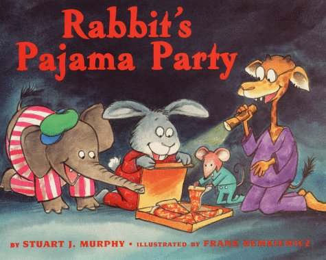 9780060276171: Rabbit's Pajama Party (Mathstart: Level 1 (HarperCollins Library))