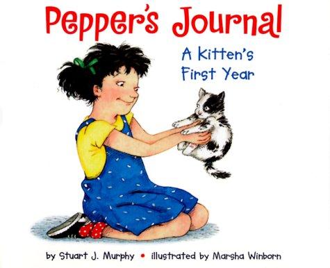 9780060276188: Pepper's Journal: A Kitten's First Year (MathStart 2)
