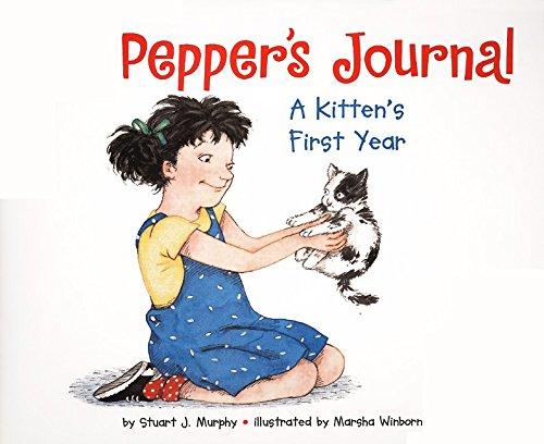 9780060276195: Pepper's Journal: A Kitten's First Year (MathStart 2)