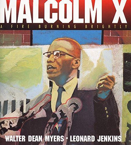 9780060277079: Malcolm X: A Fire Burning Brightly