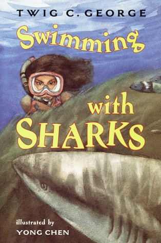 9780060277581: Swimming with Sharks (Trophy Chapter Books)