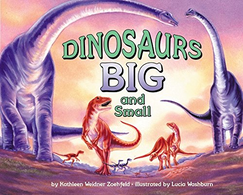 9780060279356: Dinosaurs Big and Small (Let's-Read-And-Find-Out Science)