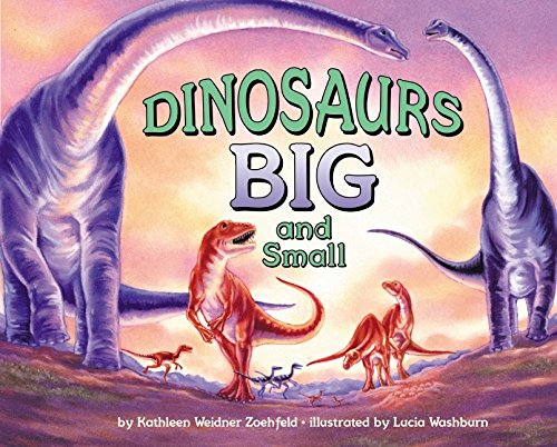 9780060279363: Dinosaurs Big and Small (Let's-Read-and-Find-Out Science, Stage 2)