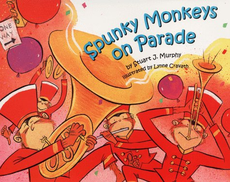 9780060280147: Spunky Monkeys on Parade (Mathstart: Level 2 (HarperCollins Hardcover))