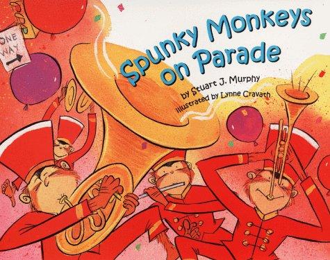 9780060280147: Spunky Monkeys on Parade (Mathstart: Level 2 (HarperCollins Hardcover))