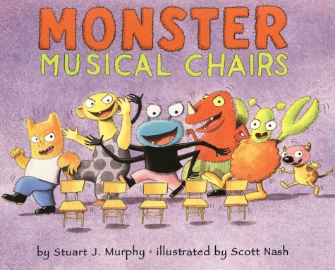 9780060280208: Monster Musical Chairs: Level 1: Subtracting One (Mathstart: Level 1 (HarperCollins Hardcover))