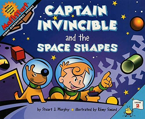 9780060280222: Captain Invincible and the Space Shapes (Mathstart: Level 2 (HarperCollins Hardcover))