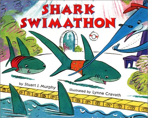 9780060280307: The Shark Swimathon: Level 3: Subtracting Two-Digit Numbers (Mathstart: Level 3 (HarperCollins Hardcover))