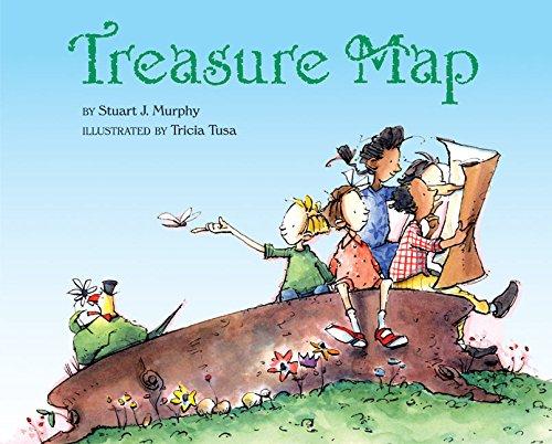 9780060280369: Treasure Map (Mathstart: Level 3 (HarperCollins Hardcover))