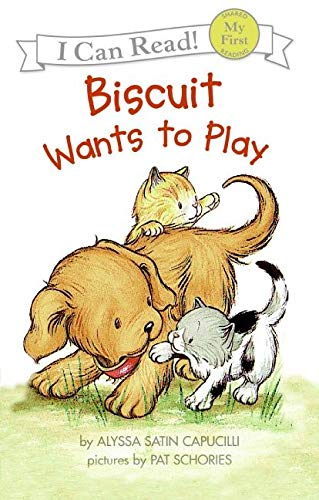 9780060280697: Biscuit Wants to Play (My First I Can Read Book)