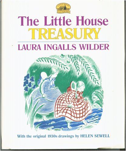 9780060282387: The Little House Treasury: Little House in the Big Woods / Little House on the Prairie / On the Banks of Plum Creek